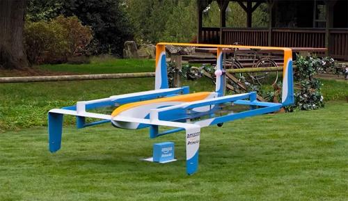 Az Amazon Angliában teszteli a drónos házhozszállítást