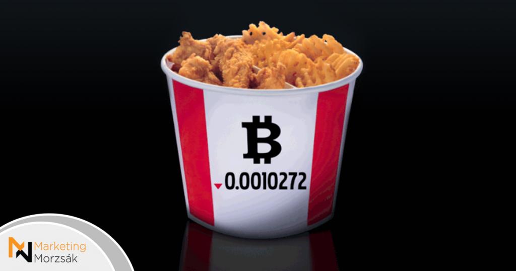 Bitcoinnal is fizethetsz a KFC kosárért