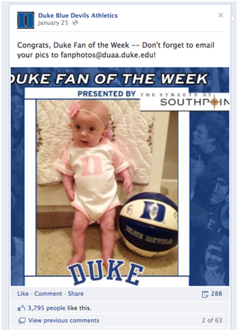 Duke-baby