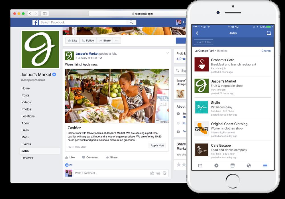 Jönnek az álláshirdetések Facebookra