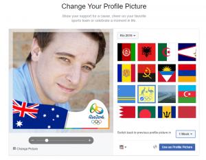 Facebook - Frame - Olimpia - 2016 Rio