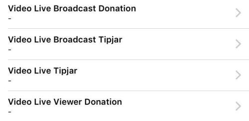 Facebook Live Stream - Donation