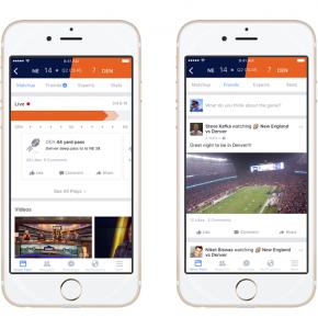 Facebook - Sports Stadium