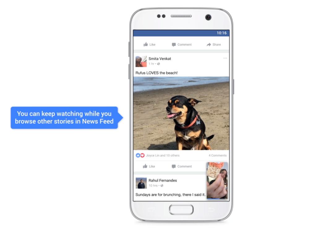 Újonságok a Facebook-videóknál