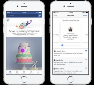Facebook születésnap