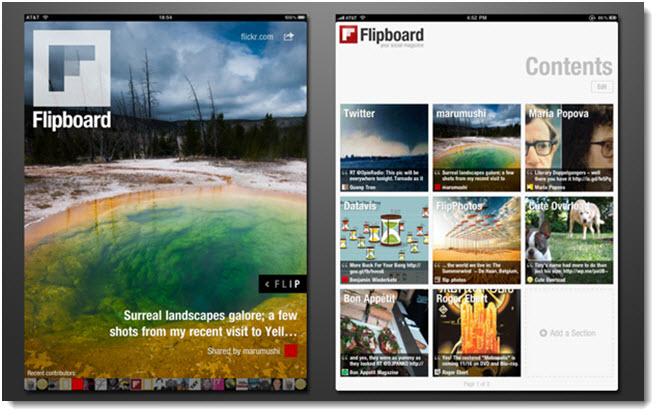 Flipboard-app-for-social-media-news