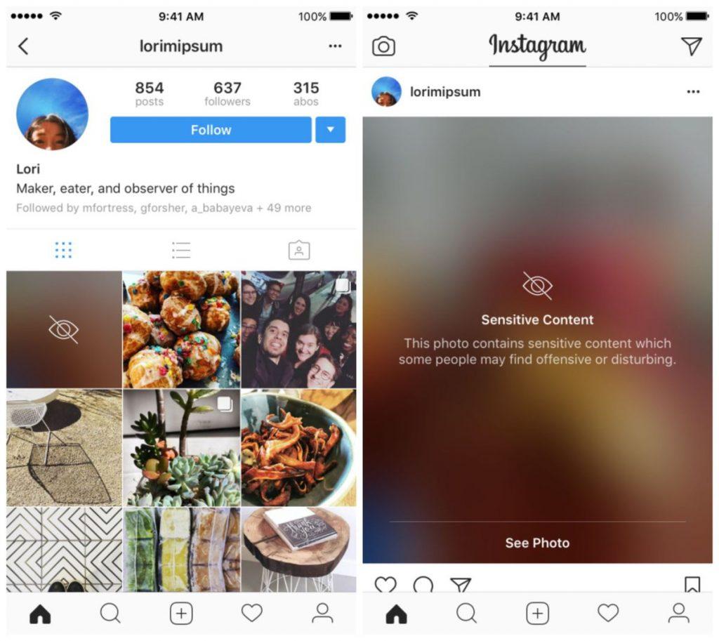Cenzúrába kezd az Instagram