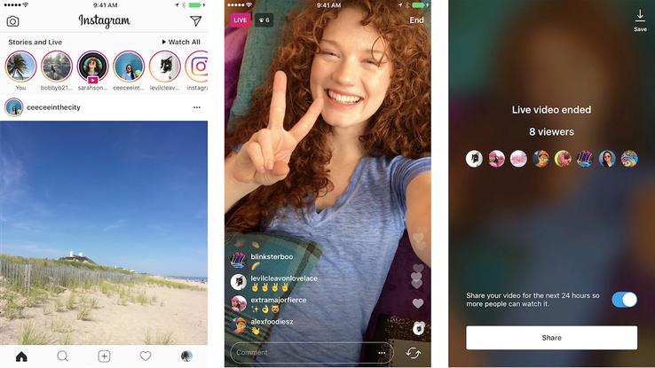 Instagram – Itt az új rekord és az Instagram Stories Live