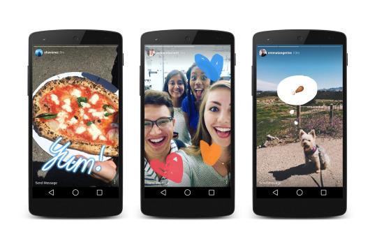 Óriási siker az Instagram Stories