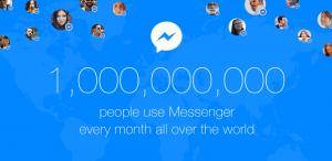Messenger - 1 milliárd felhasználó