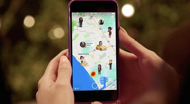 Itt a Snap Map, a Snapchat új szolgáltatása