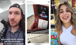 Snapchat - Sponsored Ads