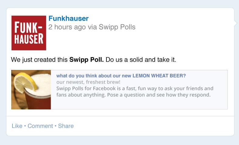 SwippPollsForFacebookFunkhauserPoll
