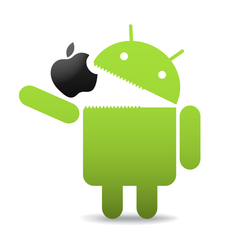 http://www.dreamstime.com/stock-photos-android-apple-image21009033
