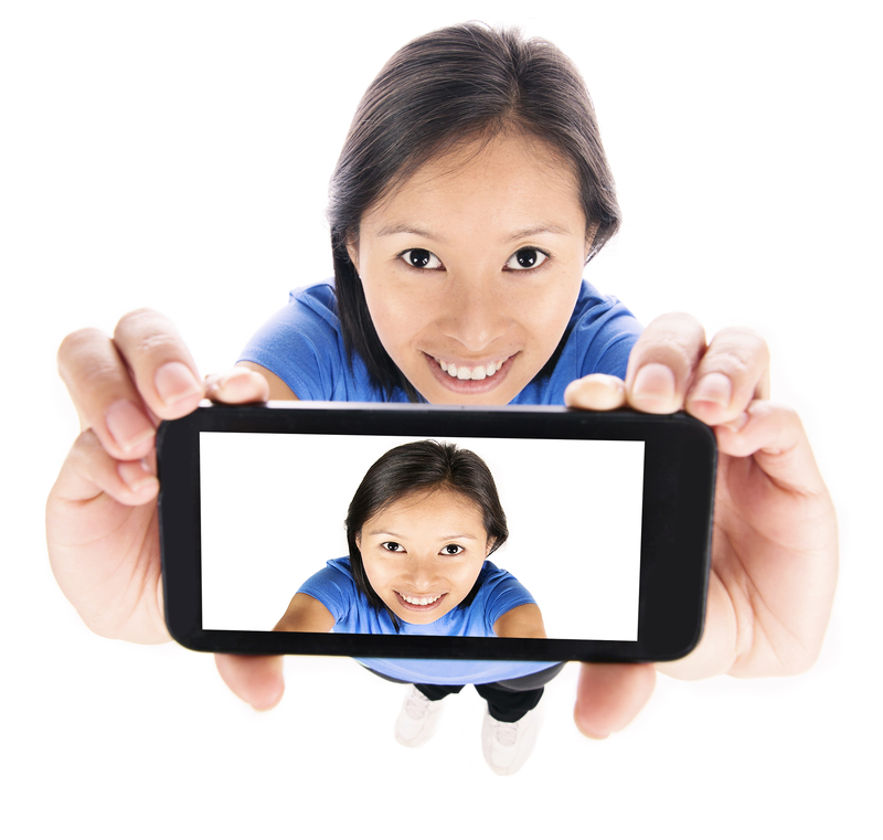 http://www.dreamstime.com/royalty-free-stock-photo-girl-selfie-asian-isolated-white-image40386325