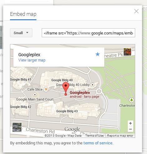 embed-google-maps