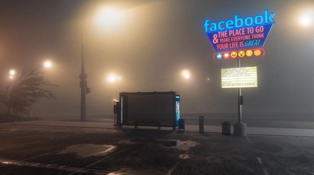"""""""Antisocial"""" media képek, a világ egyik legismertebb grafikusától"""