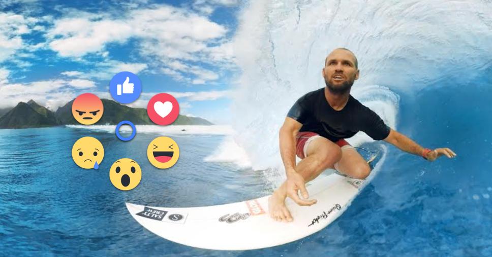 Facebook reakciók a Gear VR videóiban