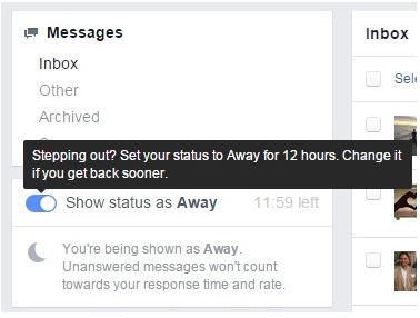 facebook-uzenet