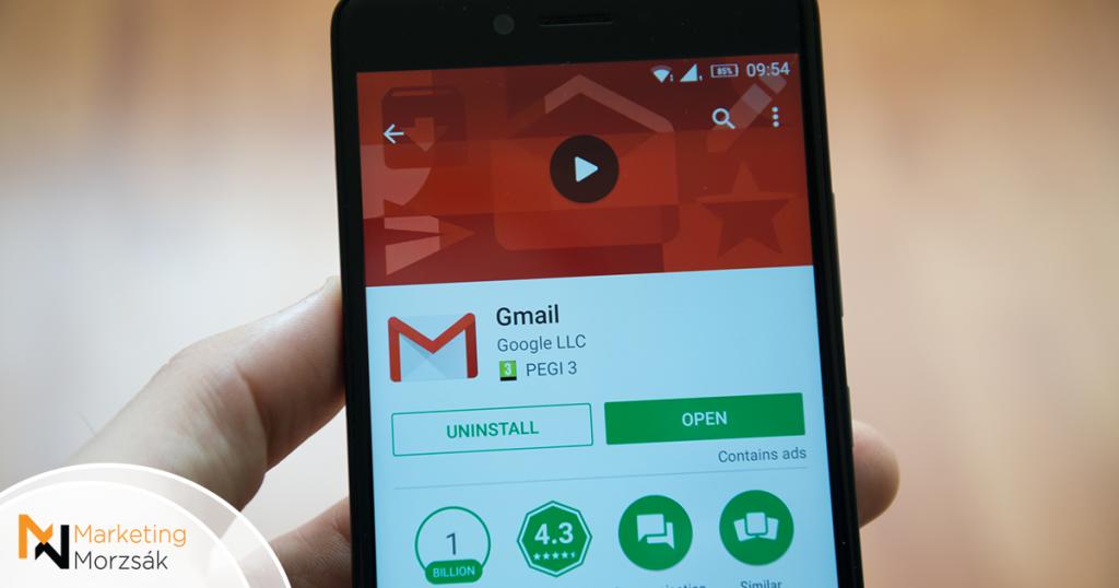 Megérkezett a Gmail Go Android-alkalmazása!