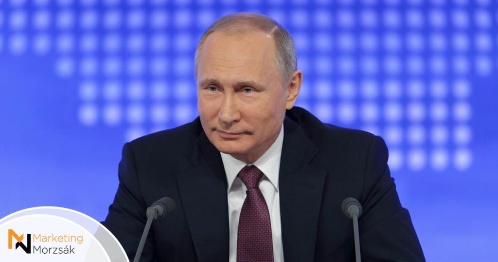 #RussiaNeedsPutin hashtag-ek lepték el az orosz Twitter-t