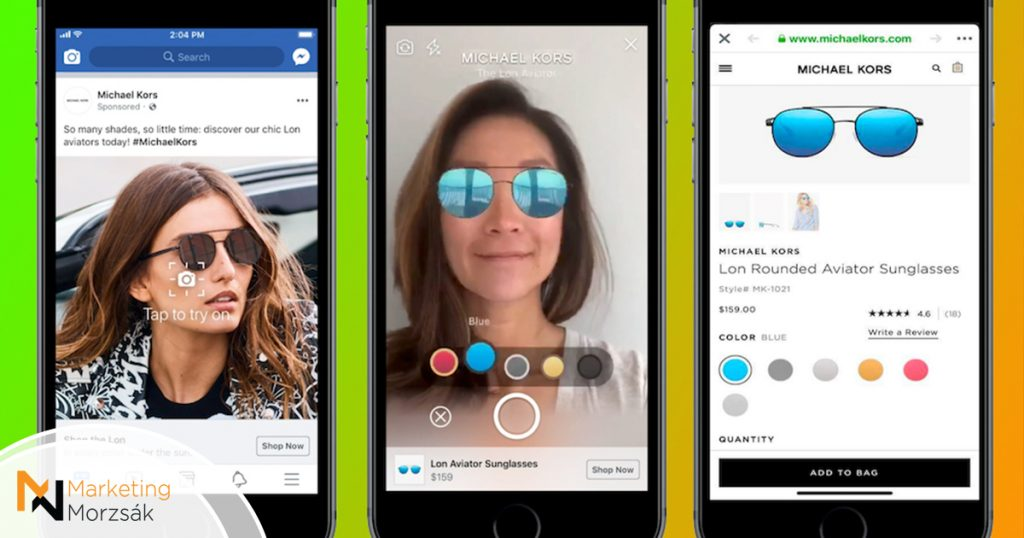 Kiterjesztett valóságot használ a Facebook új reklámtípusa