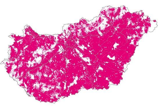 Ilyen október 18-tól a Telekom lefedettsége