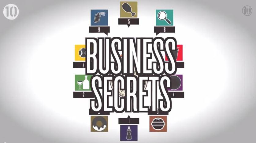 Videó: íme a 10 legnagyobb, legendás üzleti titok