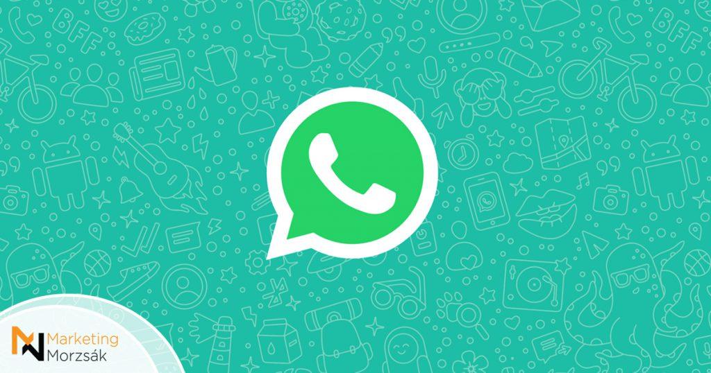 Van egy jó hírünk az androidos WhatsApp-felhasználóknak